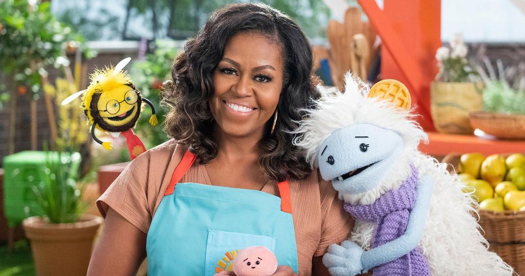 Michelle Obama estreia série sobre alimentação saudável na Netflix
