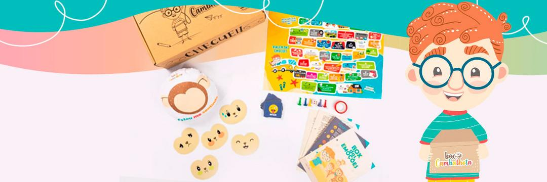 Box das Emoções: aprenda sobre os sentimentos com muita diversão