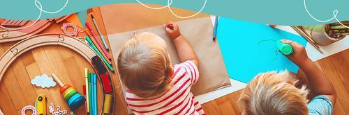 Crianças criativas: como estimular a criatividade infantil?