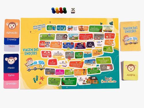 Aprender brincando: livro-jogo ensina crianças a lidar com as emoções