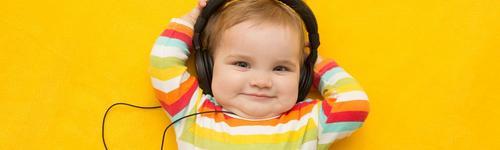 Música para os ouvidos, benefícios para as crianças